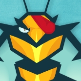 Angry Bee
