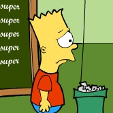 Play Bart Simpson Saw Game
