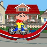 Shin Chan BikeShin Chan Games To Play Now
